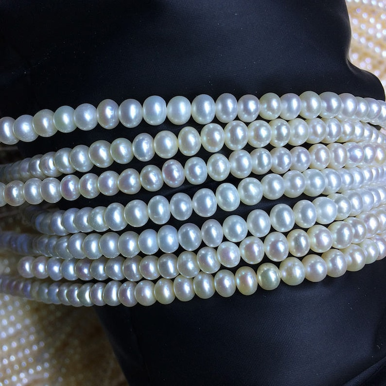 f2186498e48f 5.5-6 milímetros AAA calidad pan agua dulce perla collar
