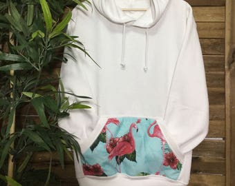 49c8aaa8 Sudadera Sweatshirt Flamingos Flamencos Mahalo Vintage Store Custom