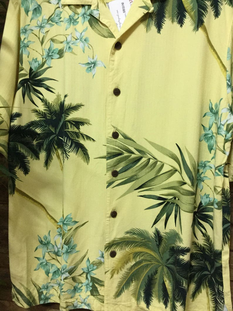 Camisa Hawaiana Hawaiian Shirt Vintage Caribbean Joe Mahalo Vintage Store