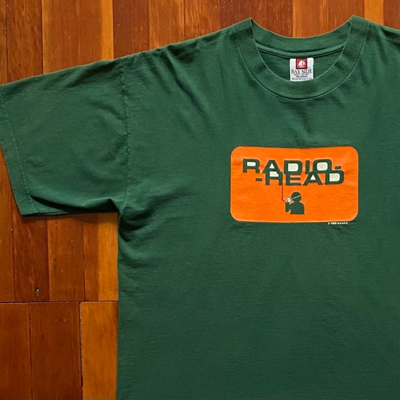 90s Radiohead The Bends Promo T-Shirt. Vintage 199