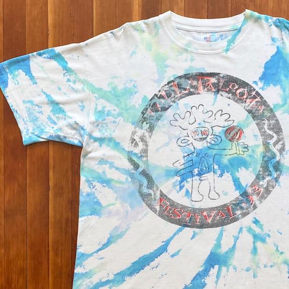 93 Lollapalooza Festival Tour T-Shirt. Vintage Sin