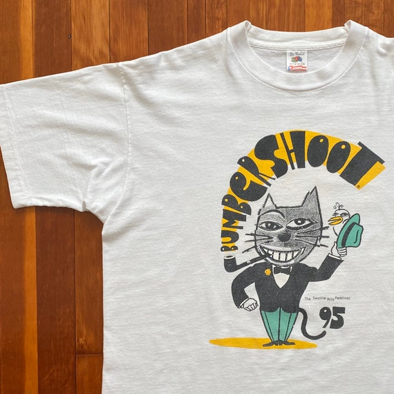 Bumbershoot 95 Seattle Arts Festival T-Shirt. Vint