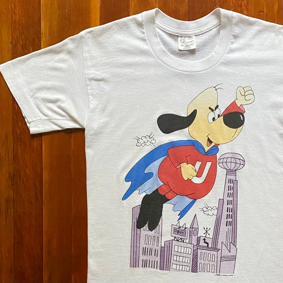 90s Underdog Stanley Desantis Cartoon Promo T-Shir