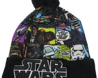 Star Wars Retro Black Winter Hat