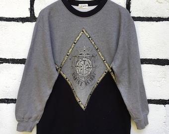 Rare Florida Keys Sweatshirt Spell Out Embroidery Logo Nice Design