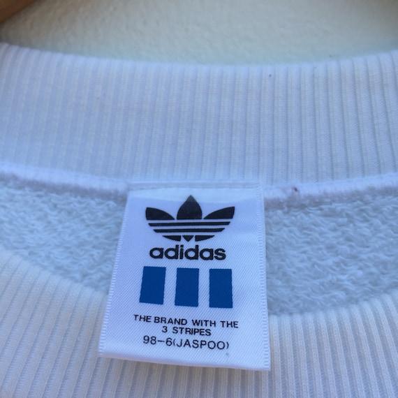 Calumnia Río arriba Suministro  Vintage Adidas Sweatshirt Big Logo Nice Design | Etsy