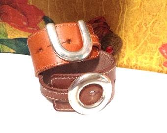 Wide leather bracelet, wide leather bracelet, leather wristband bracelet