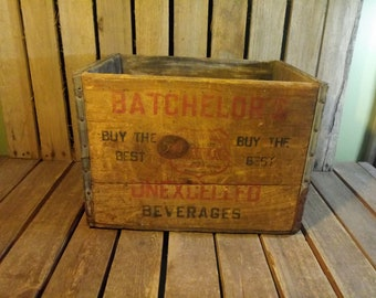 Boxes/chests Reproduction Boxes/chests 3 Vintage Wooden Tea Chests Crate Side 2 In Very Good Condition
