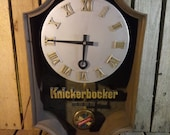 Vintage Knickerbocker Clock, Decor Or Parts Piece Only Does Not Work