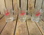 3 Vintage Knickerbocker Beer Glasses