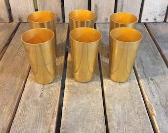 Set of 6 Metal Cups