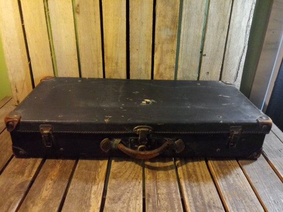 Antique Distressed Suitcase