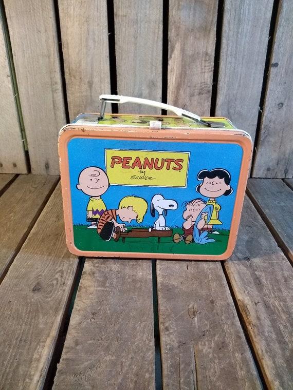 Vintage Peanuts Lunchbox