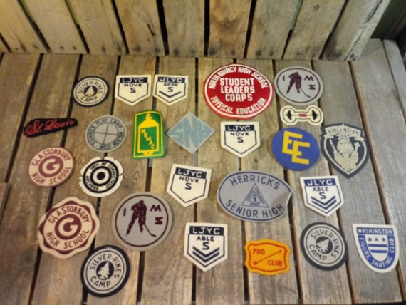 25 Vintage Patches