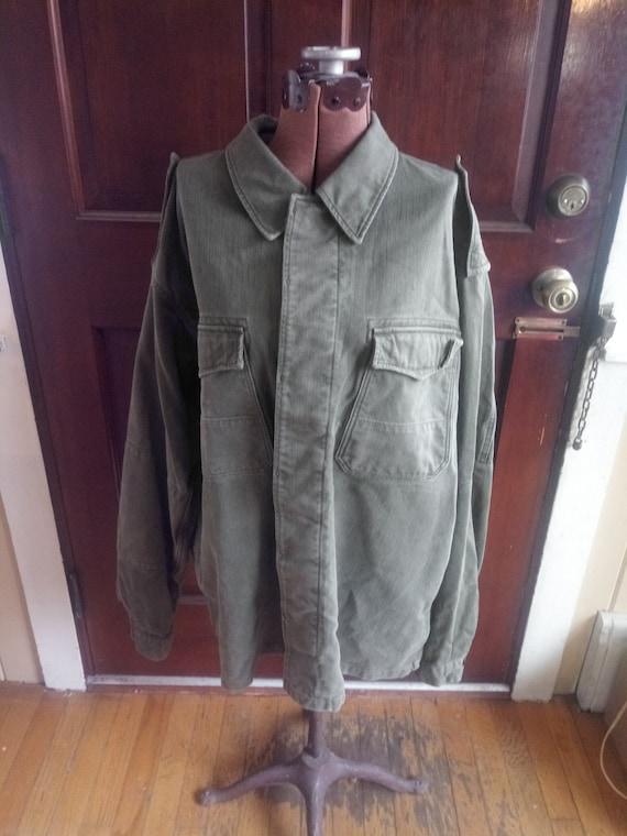 Vintage Green Long Sleeve Shirt
