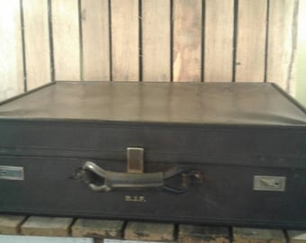 Vintage Hartman Leather Suitcase