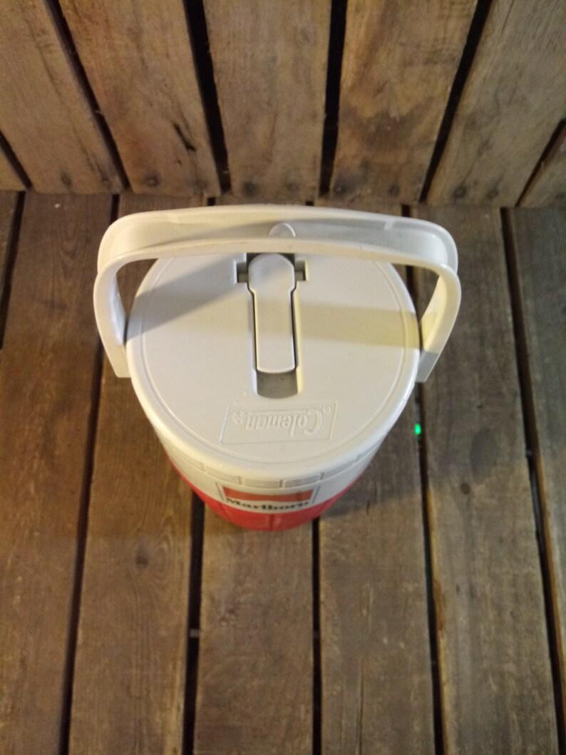 Vintage Plastic Coleman Marlboro Cooler Vintage Marlboro Cooler