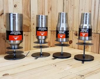 Powdercoat stand for cup and tumbler YETI HOGG Ozark Trail RTIC powder coat coating