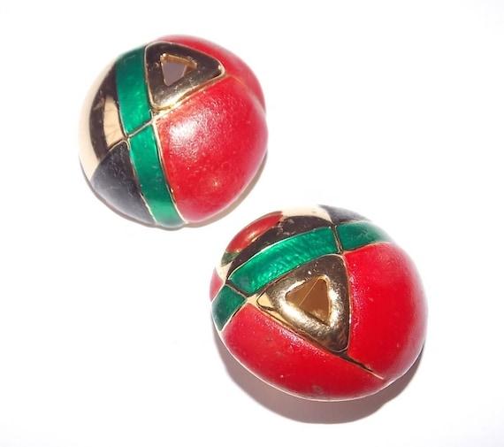 Lanvin Paris brand vintage french clip earrings  - image 2