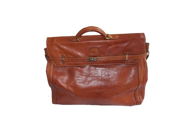 Vintage handbag leather Kelly