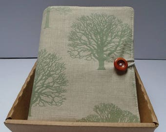 Fabric padded iPad/notebook cover