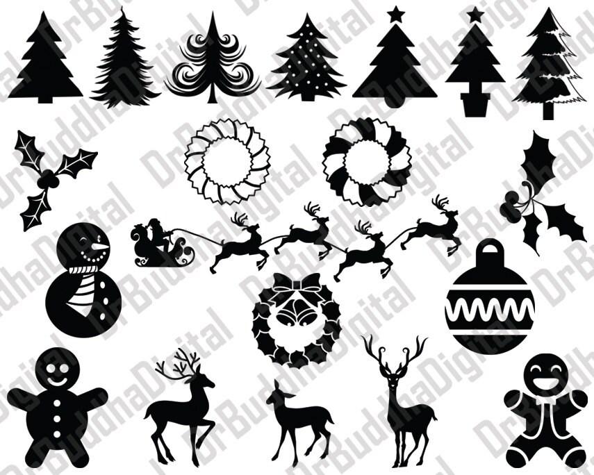 Holiday Sale Weihnachten SVG Weihnachten DXF Weihnachten | Etsy
