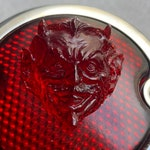 Red Devil lens pour tail light modele Ford 33-36 custom chopper * ヴィンテージテールライト