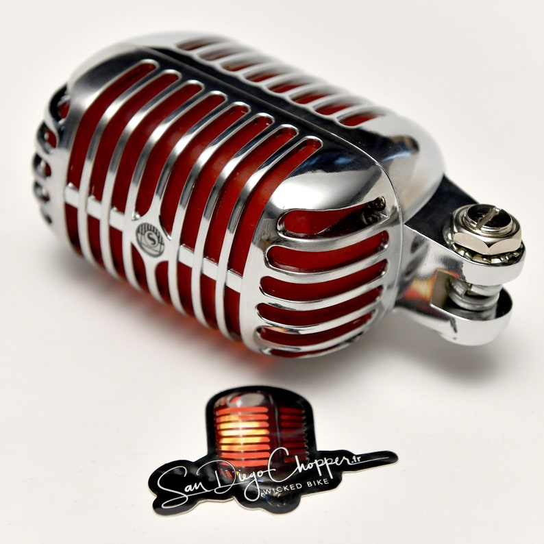 Vintage tail light for motorcycles & Hotrods NEW V 2.0 image 0