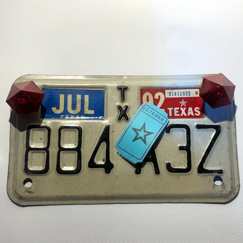 Diamonds license plate bolts / 2176868 image 0