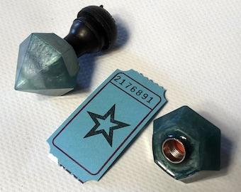 Diamonds valve caps / 2176891