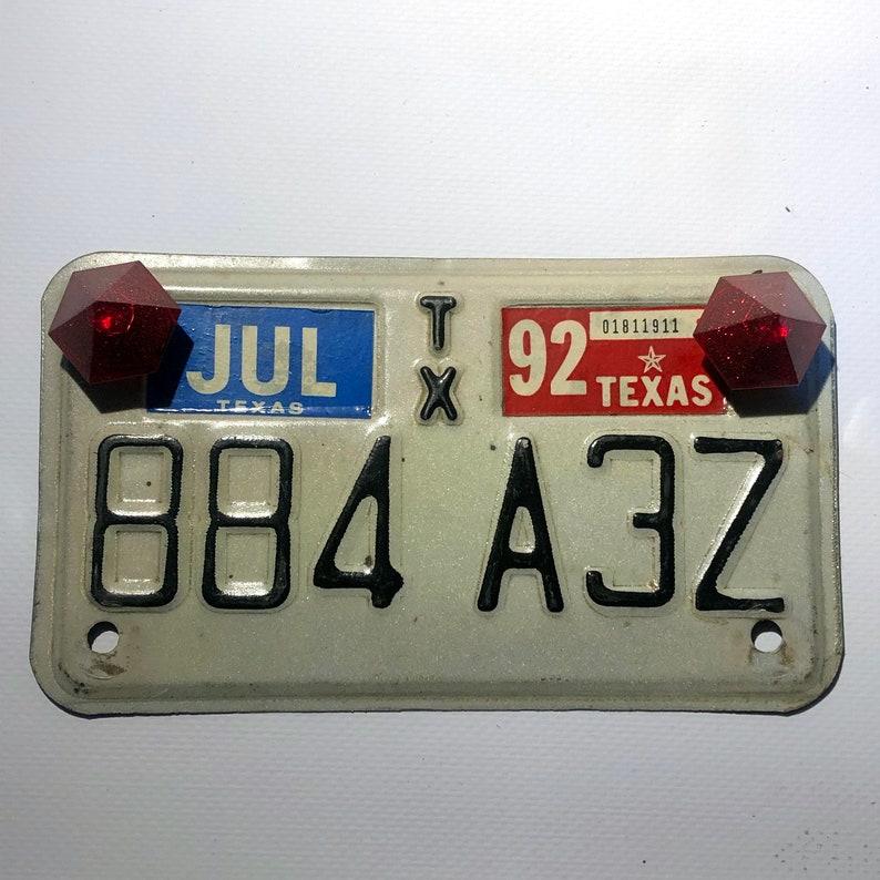 Diamonds license plate bolts / 2176867 image 0