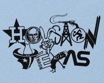 Houston Texas Classic Logos T-Shirt