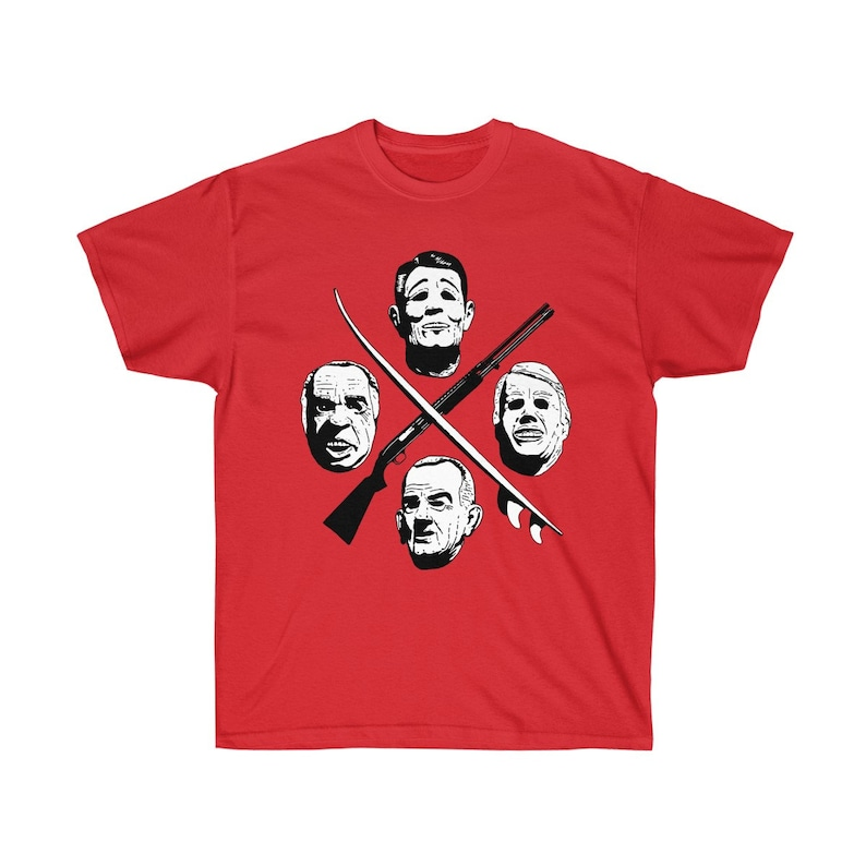 Point Break Ex Presidents T-Shirt Red