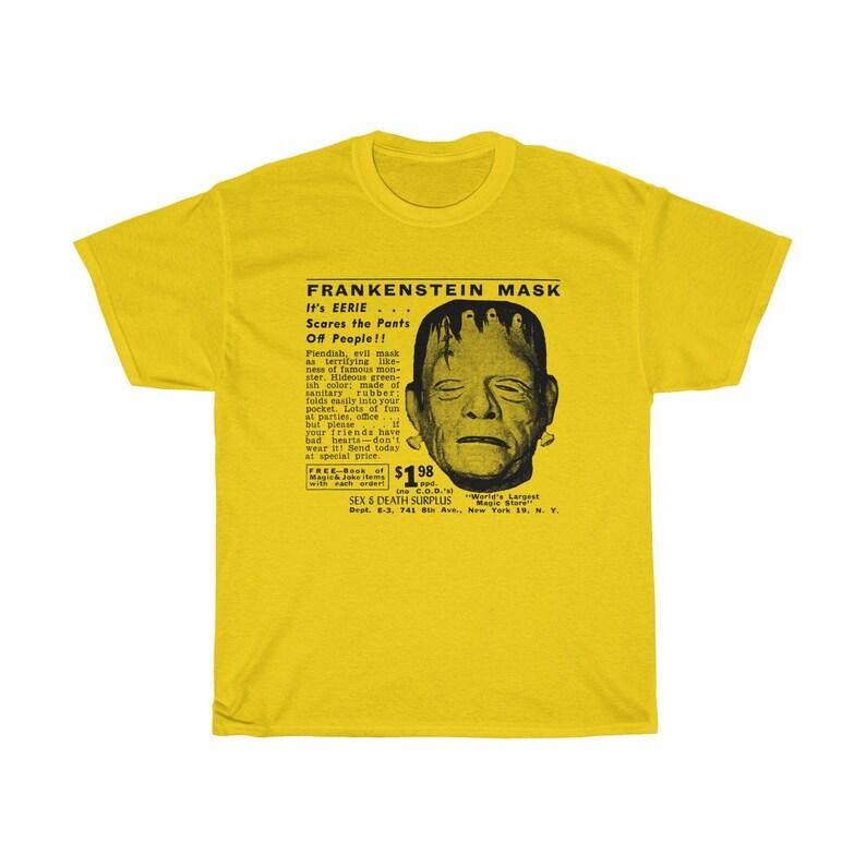 Frankenstein Mask T-Shirt Daisy