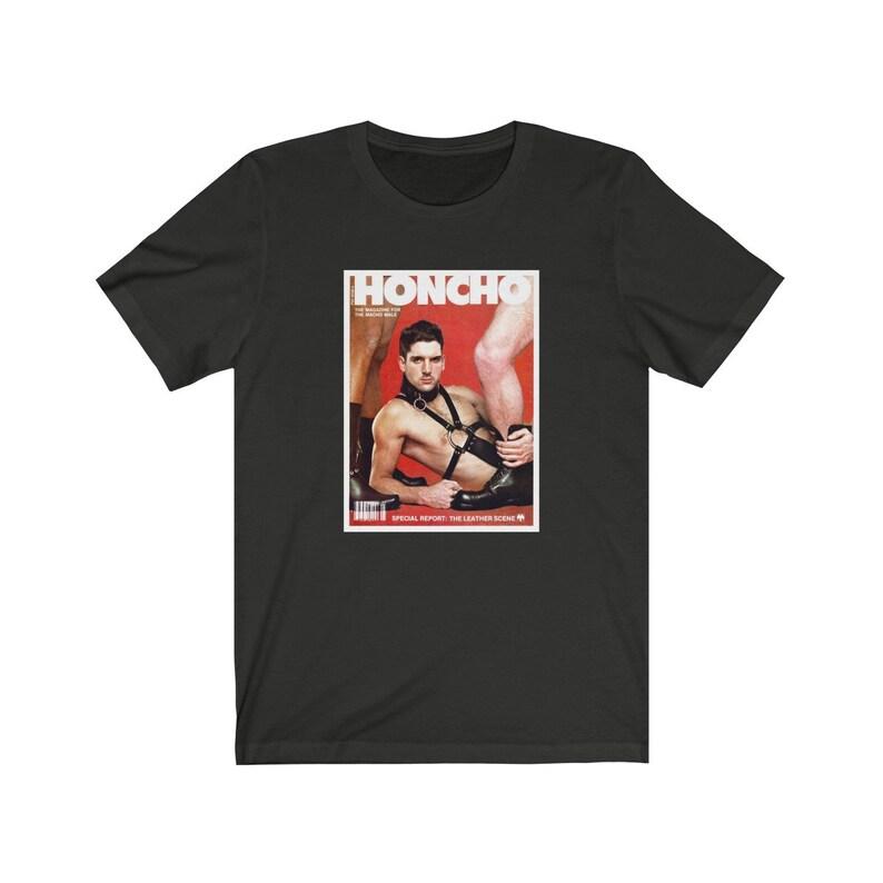 Honcho Magazine Leather Scene T-Shirt image 0