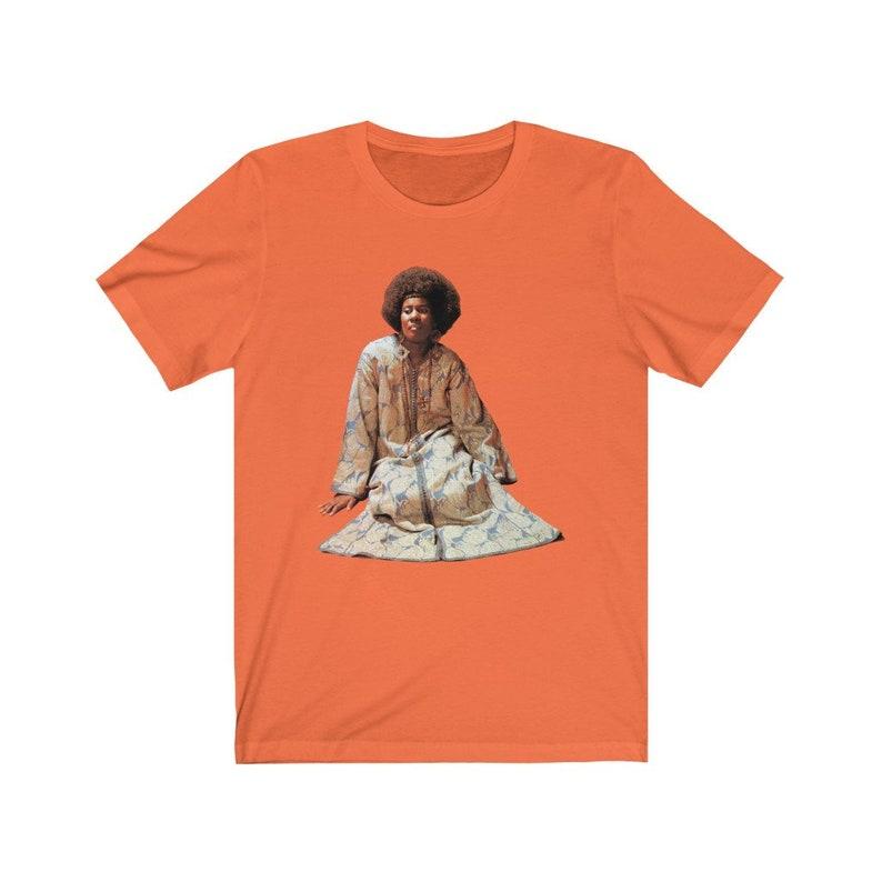 Alice Coltrane T-Shirt Orange