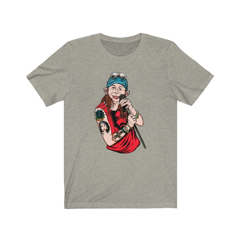 Axl Rose Alfred E. Neuman T-Shirt Heather Stone