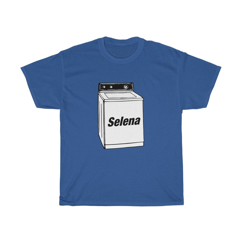 Selena Washing Machine T-Shirt image 0