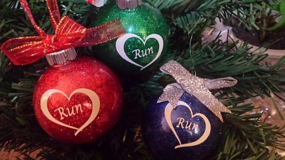 Runner Ornaments Christmas Gift for Runners Half Marathon | Etsy