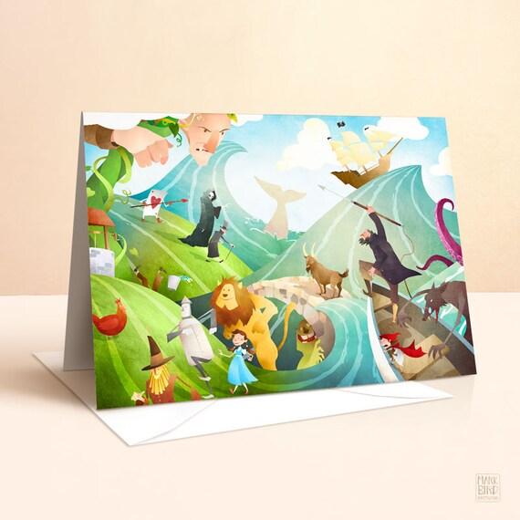 Waves Of Imagination Card Birthday Kids