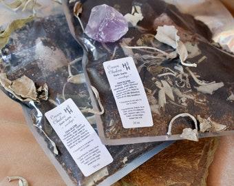 Crown Chakra Bath Salts ~ Chakra Balancing ~ Reiki Healing Infused ~ Spiritual Cleanse ~ Energy Clearing ~ Aura Balancing