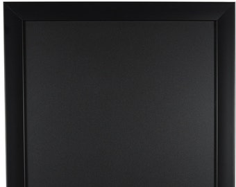 Composite Black Framed Chalkboard