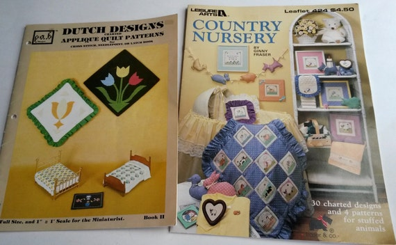 Country nursery cross stitch patterns dutch designs charted etsy