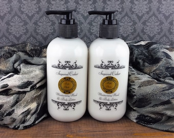 Cedarwood & Vanilla Lotion,  Natural Lotion, Moisturizer, Stocking Stuffers, Gifts for Her, Gift Ideas, Hand and Body Lotion, Christmas Gift