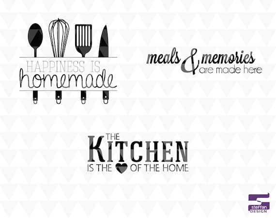 sc 1 st  Etsy & Kitchen Decor 3 Bundle SVG PDF JPEG instant download | Etsy