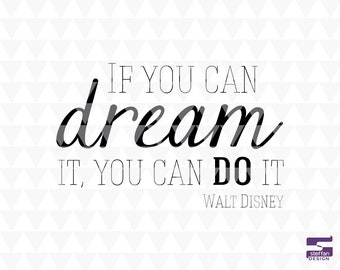 If you dream it you can do it - Classrom SVG, PDF, JPEG, classroom wall decal, classroom sign, classroom door decal, classroom decor