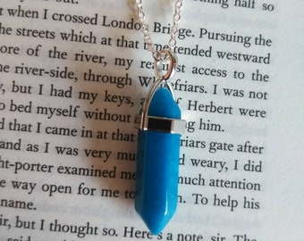 Healing Crystal Necklace (Multiple Color Options)
