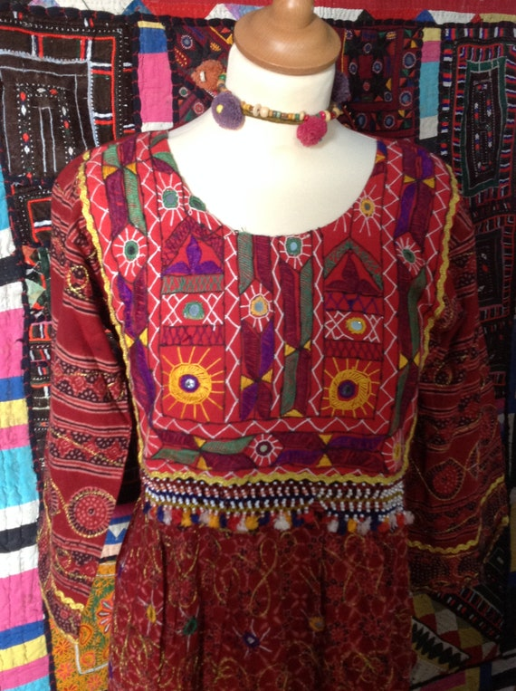 SWEET banjara embroidered gypsy  ethnic dress