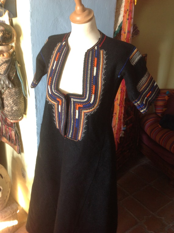 1930s , 40s HUNGARIAN EASTERN GYPSY tribal embroi… - image 2