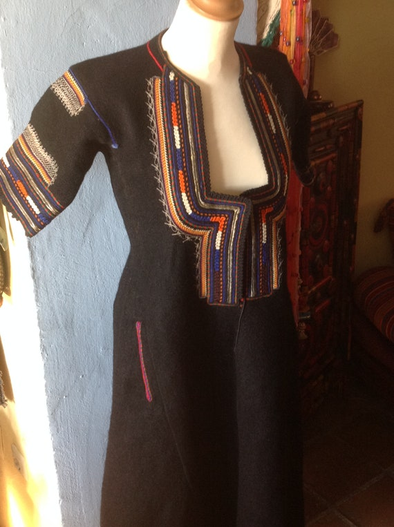 1930s , 40s HUNGARIAN EASTERN GYPSY tribal embroi… - image 4